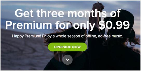 Spotify Gratis Monat