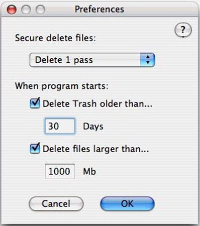 How to delete files older than X days on Windows or Mac