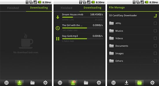 Wie man Videos auf Samsung Smartphones lädt