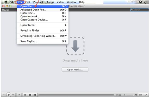 AVI Dateien mit dem VLC abspielen