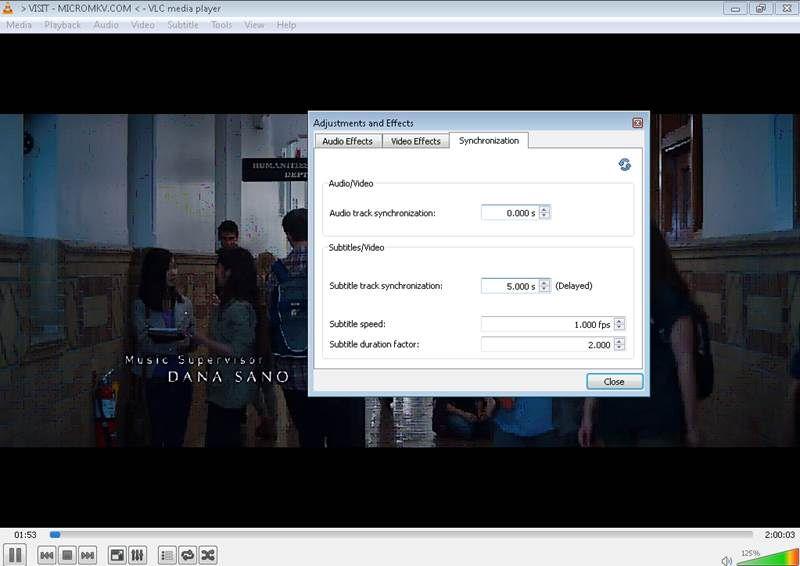 Wie man eine Untertitel-Verzögerung einstellt/synchronisiert