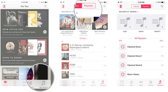 Tipps für den Einsatz der Apple Music App