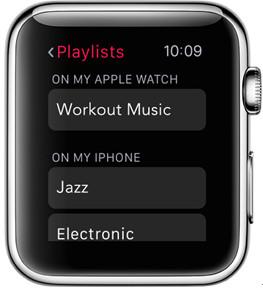 Wie man Apple Watch Musik genießt