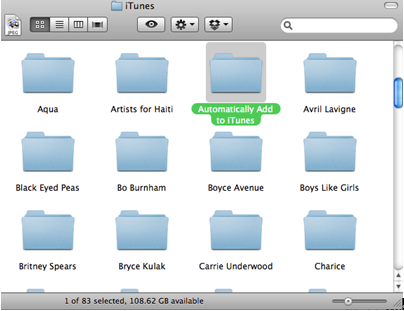 iTunes-Mediathek erneuern