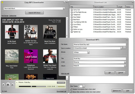 Die besten MP3 YouTube Downloader