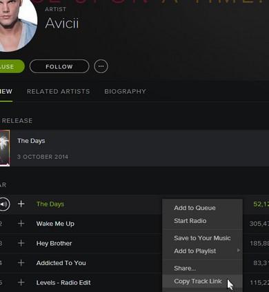 Spotify konto erstellen