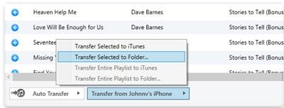 Wie man Musik und Playlisten vom iPhone, iPod oder iPad auf den PC überträgt
