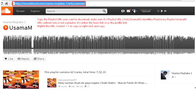 Ein einfacher Weg zum Herunterladen der SoundCloud-Playlist
