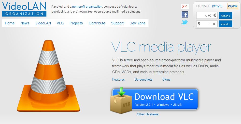 Downloading the Latest Version of VLC Die aktuelle Version von VLC downloaden
