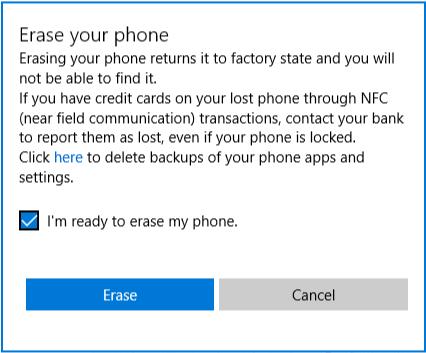 Mein Handy finden: Mein Windows Phone verfolgen oder löschen