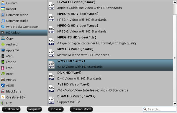 XAVC Video Converter