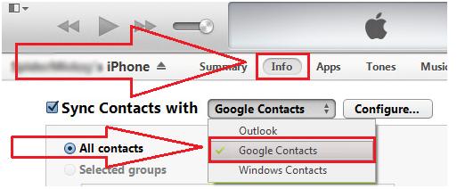 4 Wege um iPhone-Kontakte auf Gmail zu übertragen