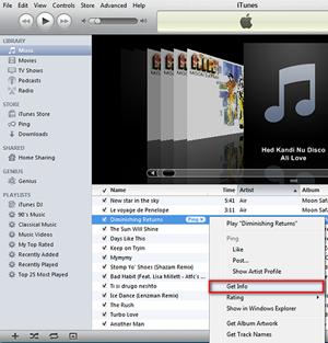 Wege zum Herunterladen von Covern in iTunes