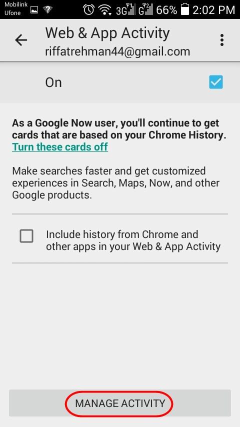 Wie man den Verlauf auf Android-SmartPhones bereinigt