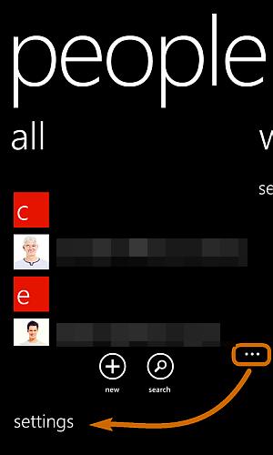 Wie Sie Kontakte vom Lumia in Android übertragen