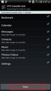 Übertragen Sie ganz einfach Inhalte von Android auf HTC und von HTC auf Android