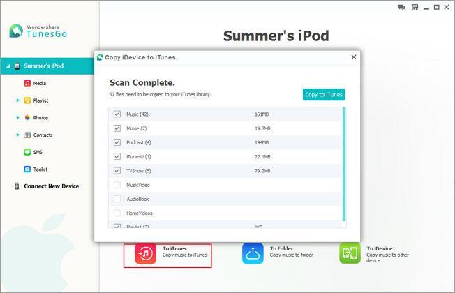 Wie Sie Fotos, Videos, Kalender, Kontakte, iMessages und Musik von iPod zu iPod übertragen