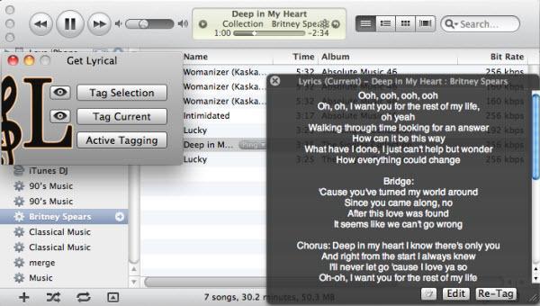 Mehrere Songtexte mit einem Klick in iTunes importieren