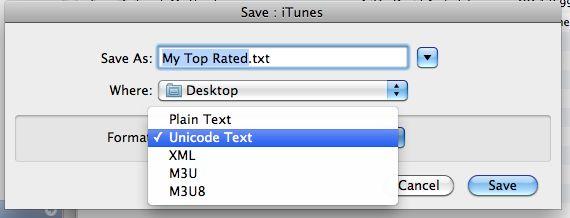 Wo befinden sich die iTunes-Wiedergabelisten?