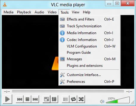Wie man den VLC Player zum Standardplayer macht