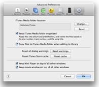 iTunes-Mediatheken