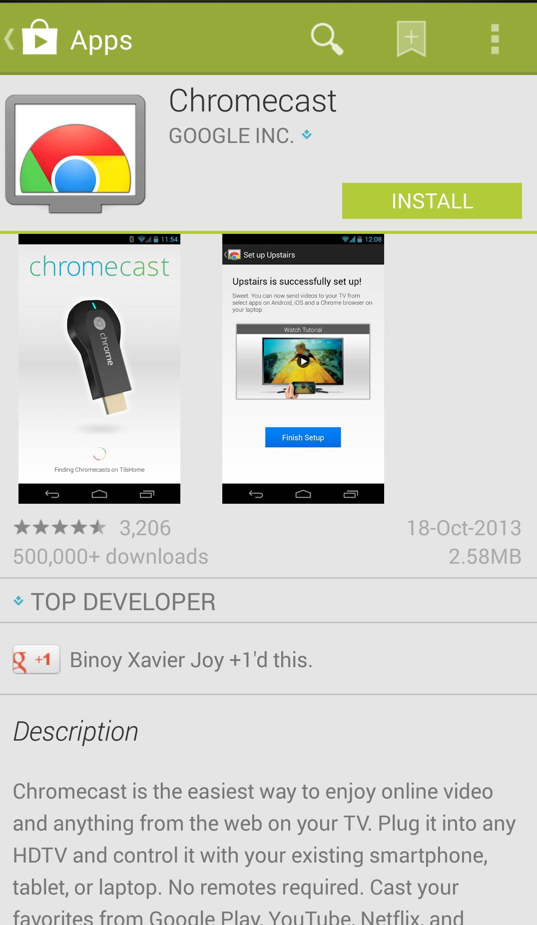 Wie Sie Ihrem Android Bildschirm auf PC mit Chromecast Spiegel