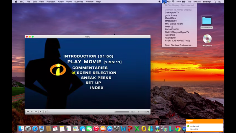 Wie spielt man Videos in VLC mit AirPlay ab