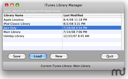 iTunes-Mediathek-Manager