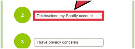 Delete Spotify Account and Remove