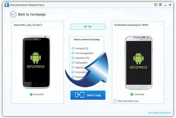 transfer contacts from android to samsung