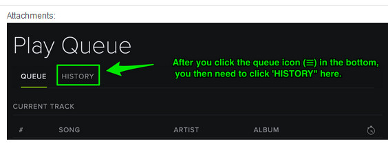 Tips you should know about Spotify history