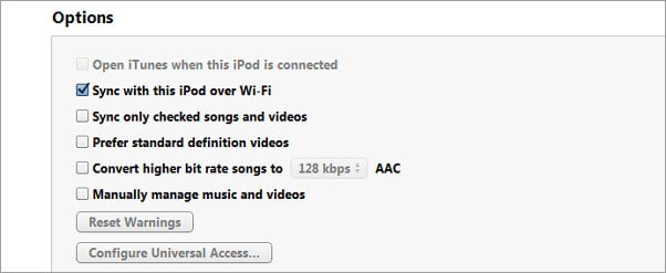 Was ist zu tun, wenn das iPod nicht mit iTunes synchronisiert?