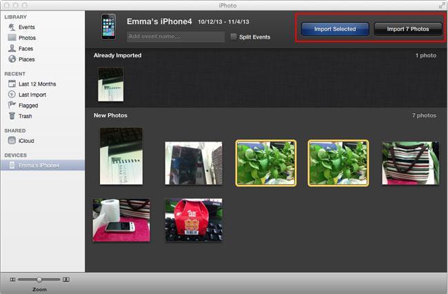 Top 4 Möglichkeiten, um iPhone-Bilder unter Mavericks auf eine externe Festplatte zu übertragen