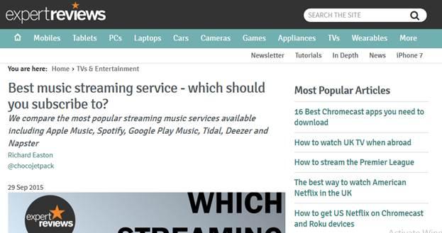 Top 15 Deezer-Bewertungen von Medien und Anwendern