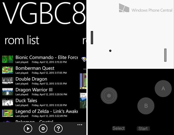 Top 5 Spiel Emulatoren für Windows Phone 8