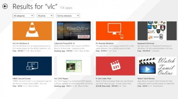 Tipps zur Verwendung von VLC auf einem Windows Phone