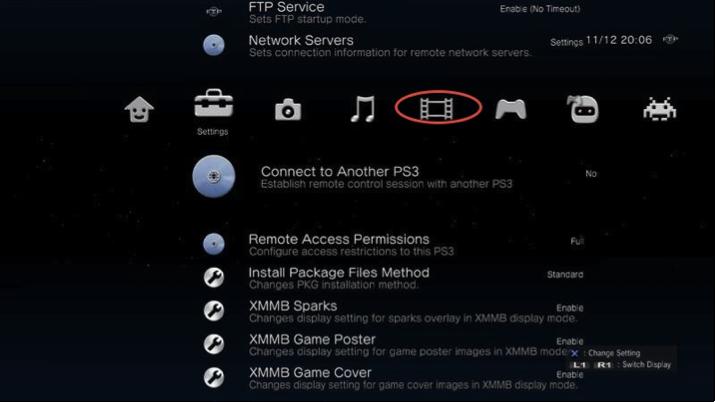 VLC für PS3