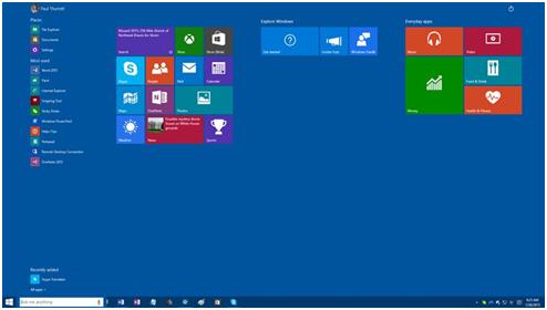 Windows 10 auf ihrem Tablet