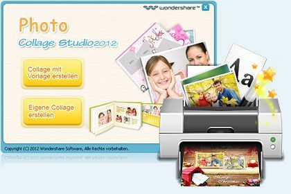 Photo Collage Studio 2014 key feature
