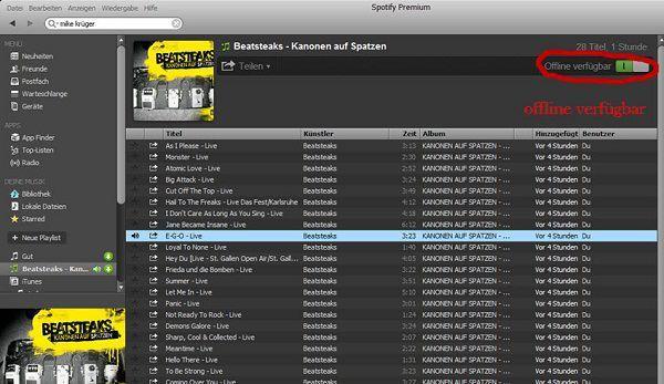 spotify musik downloaden und auf cd brennen