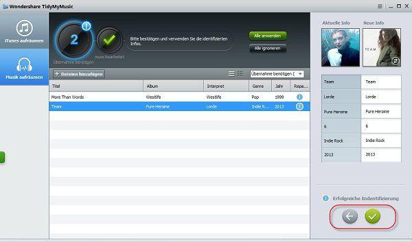Wie kann ich einfach und automatisch Metadaten in iTunes hinzufügen?