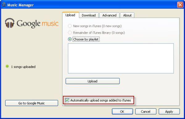 itunes musik auf google music hochladen