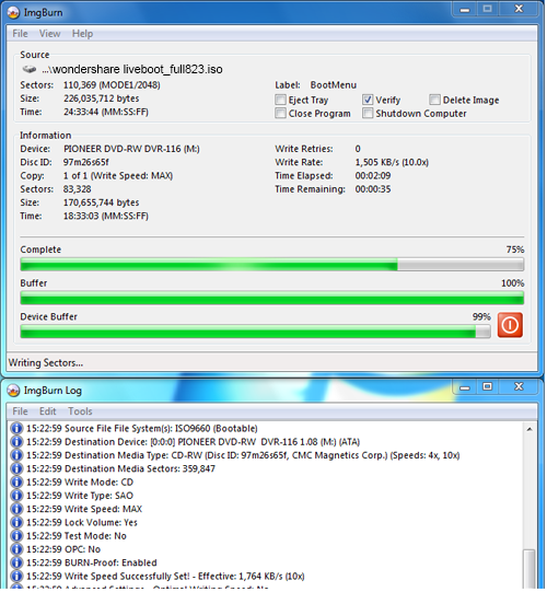 create bootable cd