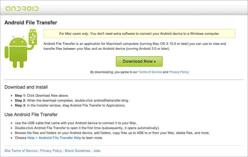 Android an Mac anschließen
