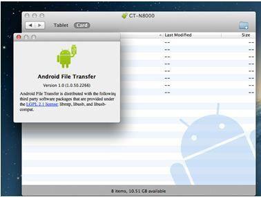 Android gerät mit Mac synchronisieren