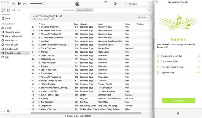 2 Wege zum Herunterladen von Covern in iTunes