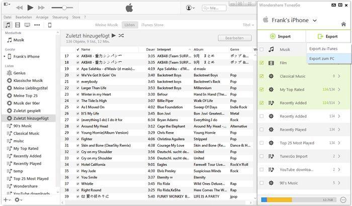iTunes für Android: Verwalten Sie Android-Inhalte mühelos