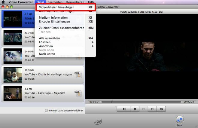 AVI in MPEG umwandeln