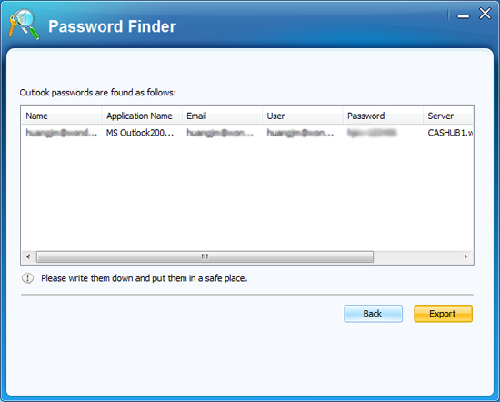 how to crack outlook password