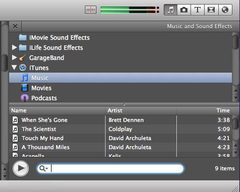 iMovie Slideshow erstellen